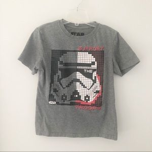 3x$25🌷Star Wars Graphic Tees Boys - Size M